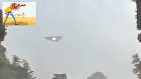 近距离拍摄UFO飞行画面,这回看谁还不相信!
