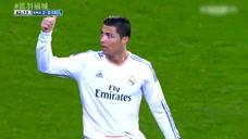 C罗的感动瞬间 进球献给前辈葡萄牙传奇尤西比奥图标