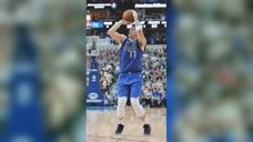 囧囧NBA:节奏感很重要 东契奇背后运球后撤步三分图标