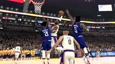 NBA爆笑时刻:芬森风骚背运酿失误,库里太矮接不到博古特妙传