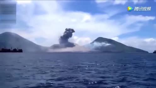 奇闻异事:不明飞行物目击事件之飞碟UFO在火山口出现的图片
