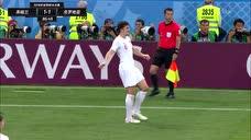 """足球经典战""""疫"""":2018世界杯半决赛 英格兰vs克罗地亚 下半场录像图标"""