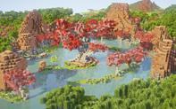 同人:Minecraft还原天香谷