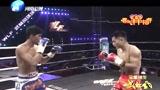 妖刀魏锐对战泰国莾星,魏锐这一前一后的摆拳打的对手缓不过劲