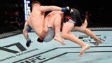 格斗高手铁拳对攻脸变形,硬汉克鲁特骑在头上猛拧胳膊大获全胜
