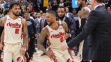 NBA赛季名场面:惊天误判!利拉德关键绝平球被干扰,裁判无视