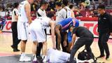 CBA赛场痛心一幕,球员受伤后无队医无担架,姚明保证的职业联赛去哪了?