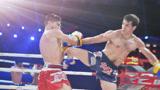 曾一晚KO两位中国拳手的波斯弯刀,被法国拳王打眼角流血惨败
