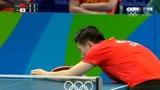 经典回放!里约奥运乒乓球男团决赛第一场,马龙VS丹羽孝希