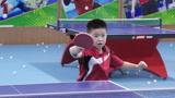 谁家宝贝长这么漂亮,乒乓球还打的这么好,真让人羡慕!