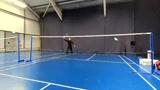 业余羽毛球里 学会这一招就很厉害了