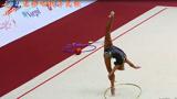 开场和结尾都是大招,俄罗斯体操女孩的身体柔韧性真是绝了