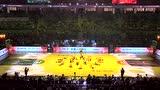 全明星赛开场灯光秀 篮球宝贝炫酷舞姿加油助威