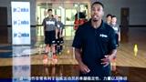 【Jr.NBA居家课】P3篮球练习_绕球练习_向前弓步走