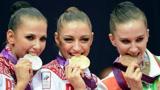 """俄罗斯体操""""女神"""",因身材发育太好而退役,却意外成知名模特!"""