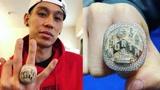 林书豪秀总冠军戒指,周杰伦秒赞:我等很久了