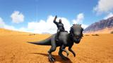 方舟生存进化:侏罗纪探险18带非洲二哥练级遇上嚣张的铁头哥