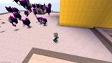 迷你世界奥特曼:高斯奥特曼被一大波牛角幽灵围攻
