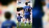 足坛爆笑时刻:阿扎尔欺负亲儿子,网友评论这是个假爸爸