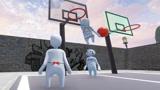 人类一败涂地点圣火打篮球堆雪人创意满分的娱乐解密图