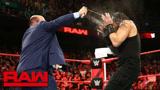 RAW 8.13: 罗门伦斯遭保罗海曼防狼喷雾袭击 被猛兽大布趁机狂虐