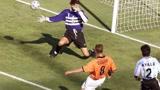 经典回顾98世界杯荷兰vs阿根廷,博格坎普读秒绝杀!