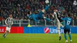 欧冠5大最精彩进球,C罗惊天倒钩,梅西无视皇马后防一条龙破门