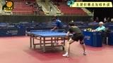 决胜局9:10赛点发球失误,中国小将情绪崩盘发生尴尬一幕,网友:太年轻