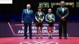 匈牙利公开赛颁奖-伊藤美诚获得女单冠军