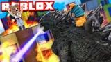 Roblox哥斯拉模拟器!史前泰坦怪兽大混战!面面解说