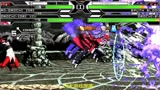mugen:魔域双八神VS血炎EV大蛇,超霸气混合战,配合太默契了