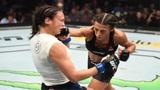 UFC格斗 乔安娜vs米歇尔跟张伟丽五五开的女人实力很强!