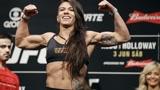 UFC美女盖德哈超燃训练集锦,她会是张伟丽的劲敌吗?