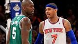 两大NBA超巨场外约架 安东尼拦住凯尔特人大巴堵加内特 安保都来了