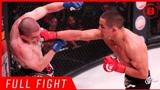 MMA格斗 阿伦·皮科vs贾斯汀,重拳一击,对手站不稳了!