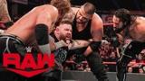 【RAW1395期】赛斯插手比赛欺负欧文斯 街头小子赛后支援改写局面