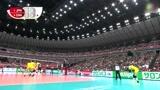 日本女排开场5连跪,被中国女排拦得不会打球了,内心很崩溃了