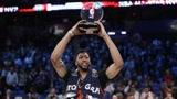 浓眉单场52分NBA全明星历史第一人 空接扣到爽 MVP就该给他