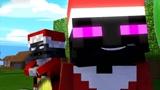 Minecraft动画:怪物学院暖人心挑战