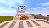 迷你世界奥特曼:高斯奥特曼在玻璃桥上种大南瓜