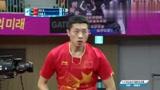 经典回放!2014仁川亚运乒乓球男单决赛,许昕VS樊振东
