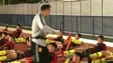 抵达泰国,中国U23男足积极备战,完成首堂正式训练课