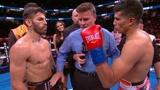 最新拳王争霸战,利纳雷斯四回合重拳KO莫拉莱斯成功复出