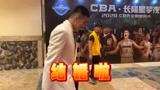 "CBA全明星-郭艾伦走红毯!直呼寻找""另一半""!"