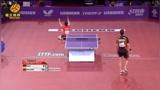 当年国乒众将全员观看,马龙两分险胜巅峰期波尔,龙仔直接激动双膝跪地!