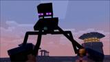 MC动画世界《越狱挑战》,末影人使用了末影珍珠!