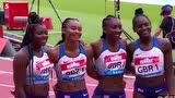 央视看点 钻石联赛:中国队夺女子4X100接力银牌 祝贺