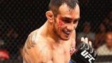 """UFC猛将""""夜魔""""的疯狂血拼!把对手打得破了相"""