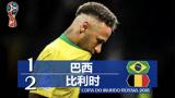 又是乌龙惹的祸,回顾巴西1-2比利时(2018世界杯)