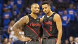 NBA最佳组合-开拓者双枪 利拉德季后赛绝杀雷霆四加时鏖战掘金